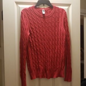Hot Pink Gap Knit Sweater